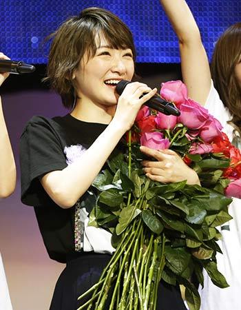 卒業コンサートの生駒里奈