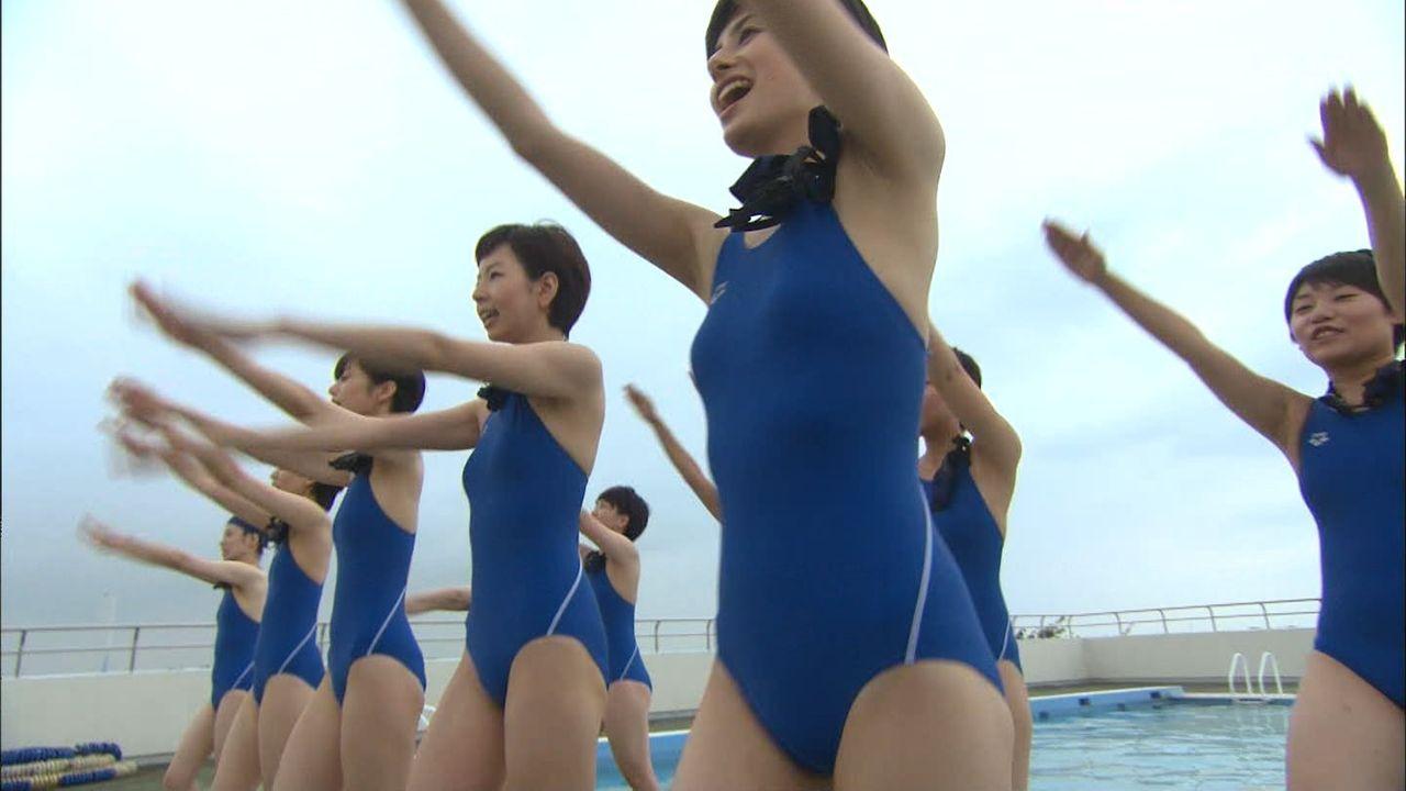ホラン千秋(29)のスクール水着姿w