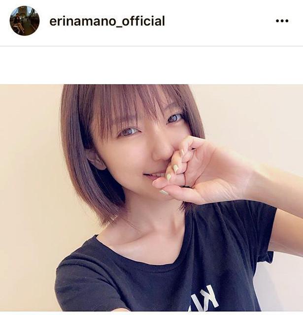 真野恵里菜、ボブカット披露 ファン絶賛「破壊的な可愛さ!!」「似合うわー」