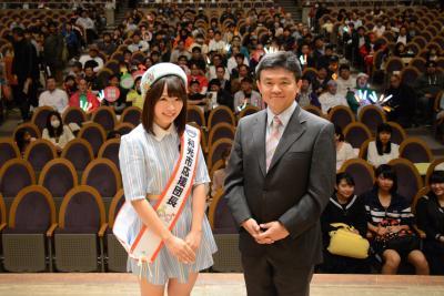卒業発表した「SKE48」松村香織さん 埼玉県和光市応援団長に再任