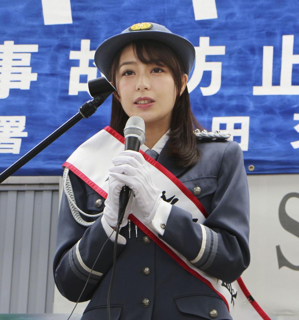 TBS宇垣美里アナ(27)が一日警察署長に 可愛すぎやろ!