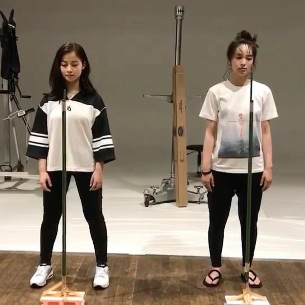 橋本環奈&清野菜名