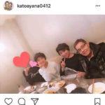 鈴木奈々夫妻と加藤茶夫妻