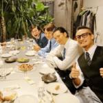TOKIO&安倍首相の会食ショット