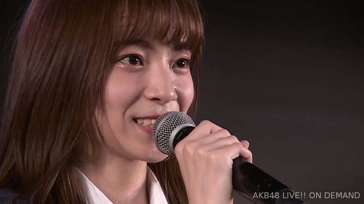<AKB48>後藤萌咲(18)、生誕祭で電撃卒業発表!170cmの長身を生かしモデル目指す「これを武器に新しい自分と