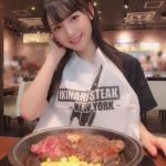 いきなりステーキに行った道重さゆみ