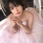 ウエディングドレス姿の桜井日奈子