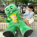 加藤綾子とガチャピン
