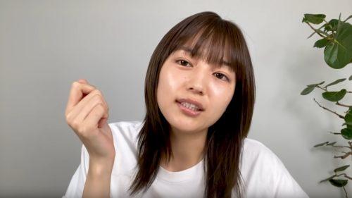 すっぴんの川口春奈