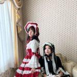 ロリータファッションの加賀楓と横山玲奈
