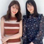 瀧野由美子と小嶋陽菜